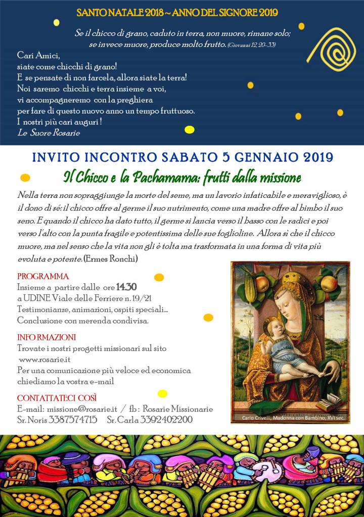 INVITO MISSIO 2019